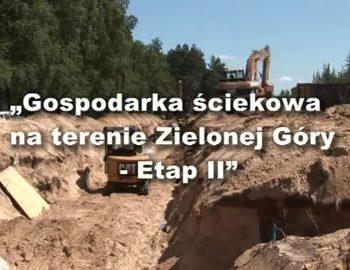 gospodarka sciekowa na terenie zielonej gory etap ii cz 1 13