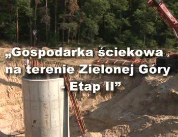 gospodarka sciekowa na terenie zielonej gory etap ii cz 1 30